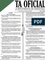 Gaceta Oficial N° 40342 - Venezuela