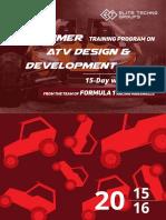 Atv Workshop 4