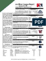 4.21.16 Minor League Report