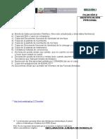 ESCALAFON Estructura Del Legajo