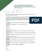 Ecuaciones Lineales y Matriz Adjunta