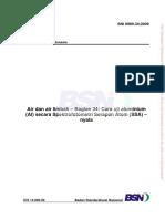 Aluminium Standar Method