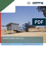 Datasheet Kleemann Ms19d Sp