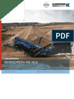 Datasheet Kleemann Ms16d Sp