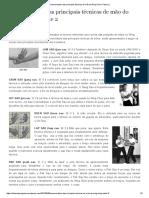 Nomenclatura Das Principais Técnicas de Mão Do Wing Chun- Parte 2