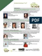 NEWH GreenVoice Conversations Sustainability Seminars at HDExpo Vegas, Wed-Thurs May 4-5th