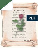 Amor No Correspondido (Poema)