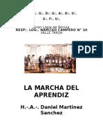La Marcha Del Aprendiz - Daniel Martinez