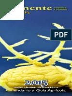 Calendario lumar 2015