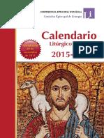 Calendario Liturgico 2015-2016