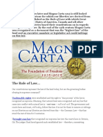 What Is Magna Carta And The Common Law?