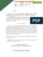 Solicitud Devolucion de Documentos.