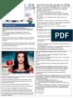 Atividades Para Prova de Texto Publicitário Completo