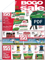 Seright's Ace Hardware April BOGO Sale