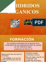 ANHIDRIDOS ORGANICOS