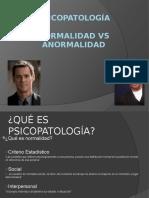 Modelos en Psicopatología