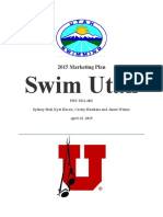 swim utah marketing research plan