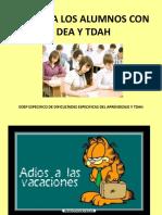 Pti Para Los Alumnos Con Dea y Tdah