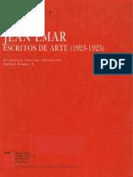 Juan Emar Notas de Arte