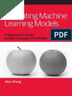 Evaluating Machine Learning Model