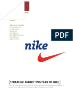 Marketing Plan for Nike