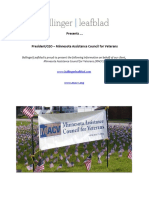 Executive Position Profile - MN Assistance Council for Veterans - Pres-CEO