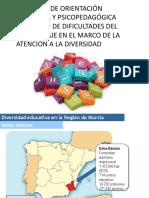 El Eoep Especifico de Dificultades Del Aprendizaje en La Region de Murcia
