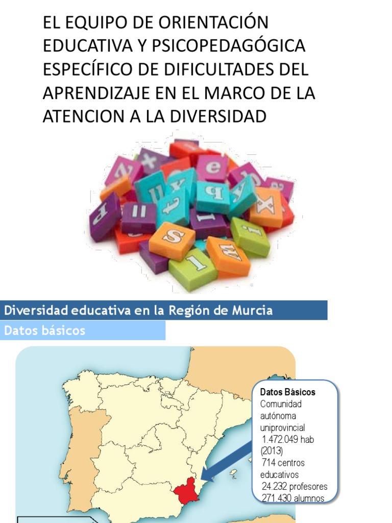 El Eoep Especifico de Dificultades Del Aprendizaje en La Region de ...