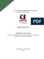 Certificacion Experto en Tno Abierto-junio 2015