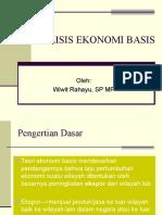 7. Teori Dan Model Ekonomi Basis