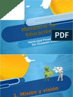 Ministerio de Educacion - Pedagogia