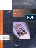 Derecho Romano- Marta Morineau Iduarte