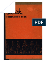 Butterick Dressmaking Book - 1940