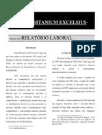 LUSITANIUM EXCELSIUS ABRIL de 2010 RELATÓRIO LABORAL