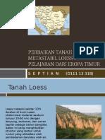 Perbaikan Tanah Metastabil Loess