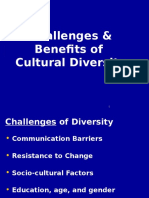 Challenges Benefits OfCultural Diversity