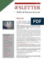 Newsletter T&P N°33