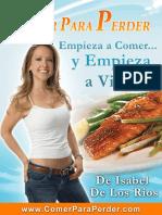 Comer Para Perder - Manual Del Programa