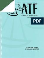 1 Fase OAB 2013