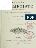 Ménard Louis - Hermès Trismégiste