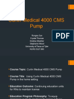 team 5 curlin medical 4000 cms pump