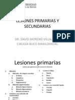 Lesiones Primarias y Secundarias .Universidad señor de sipan
