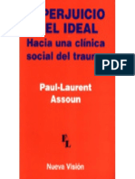 PTEPT 014 El Perjuicio y El Ideal. Hacia Una Clínica Social Del Trauma - Paul-Laurent Assoun