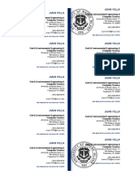 Juan F. Villa Business Card