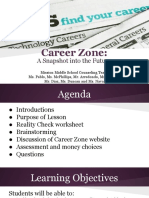 career zone-mission middle school