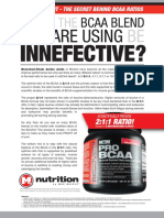 PROBCAA by Max Muscle Sports Nutrition