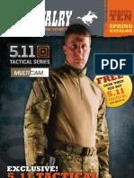 U.S. Cavalry Twenty TEN Spring Catalog