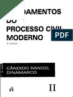 Desconsideração Da Personalidade Jurídica, Fraude e Ônus Da Prova - Cândido Rangel Dinamarco