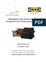 FEA on Furniture IKEA