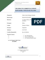 evaluacion de impacto ambiental Pollo El Placer